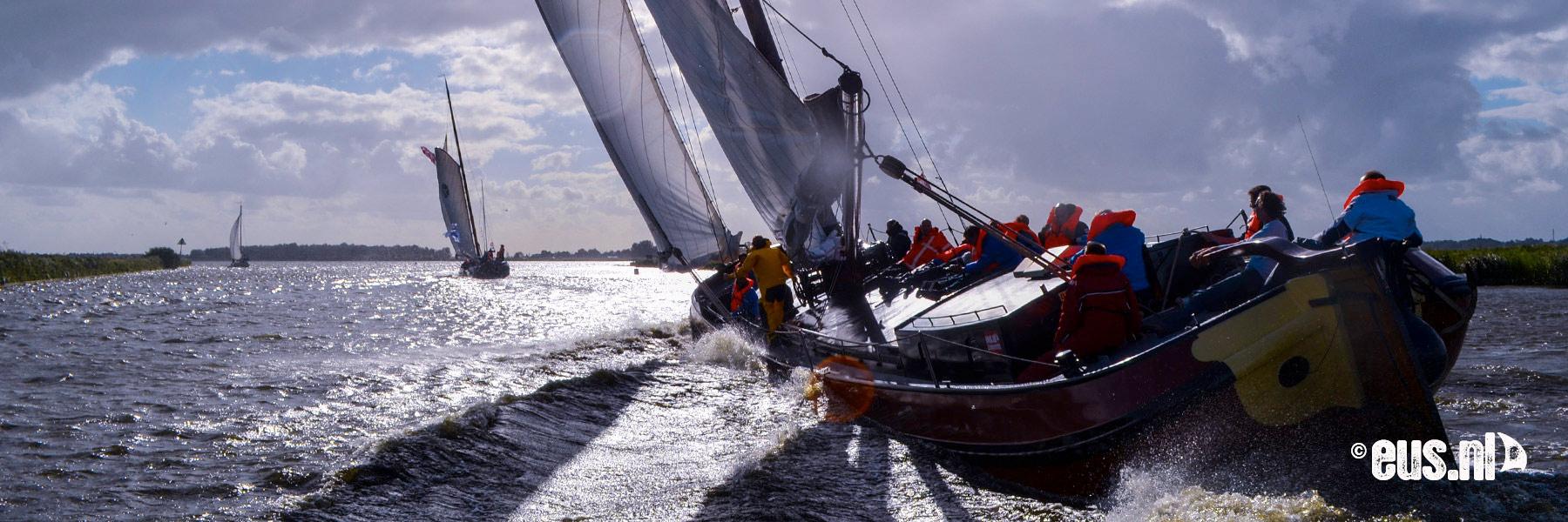 Skutsjesilen op de Friese Meren