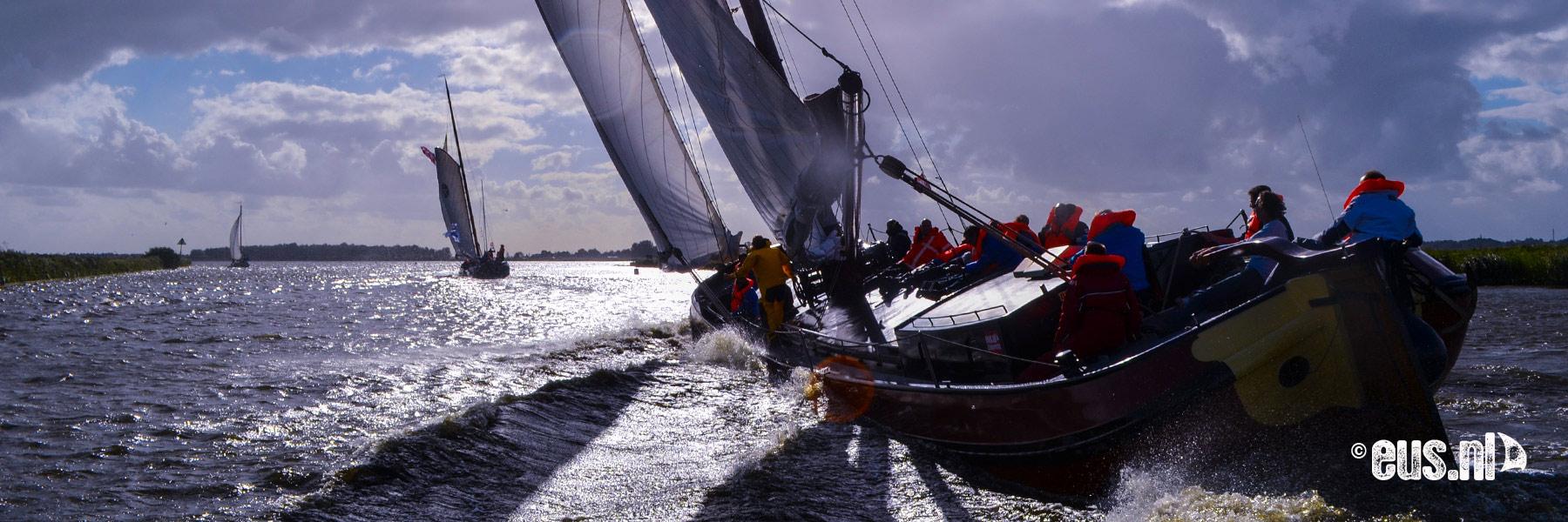 Dagtocht zeilen in Friesland
