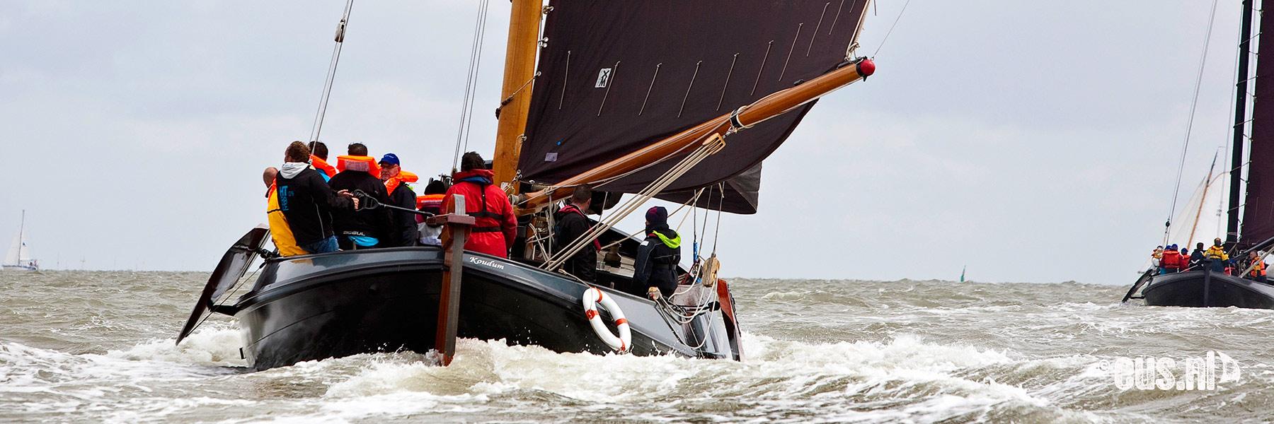 Lemsteraak zeilen IJsselmeer