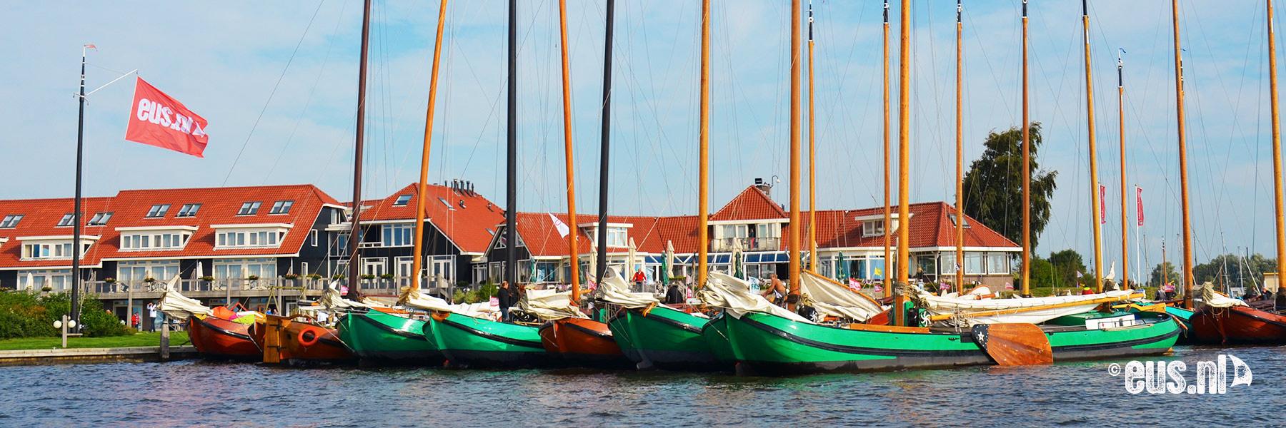 Opstaplocatie zeilen Friese Meren