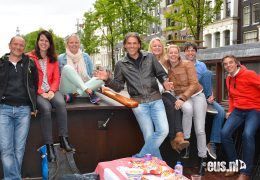 Rondvaart-vergaderen-barbecue-in-Loosdrecht