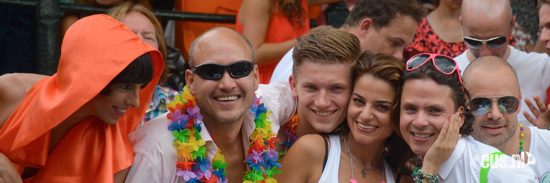 rondvaart en feesten in Amsterdam