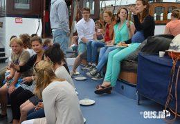 Klipper-zeilen-op-het-IJsselmeer